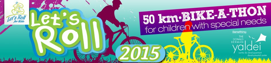 Let's Roll for Kids 2015 - The kids are getting pumped, are you?